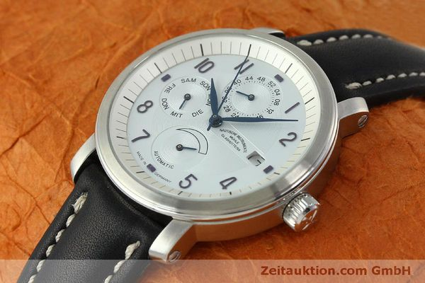 Used luxury watch Mühle Business Timer steel automatic Kal. ETA 2892A2 Ref. M13065  | 150629 01
