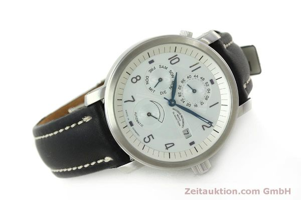 Used luxury watch Mühle Business Timer steel automatic Kal. ETA 2892A2 Ref. M13065  | 150629 03