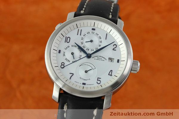 Used luxury watch Mühle Business Timer steel automatic Kal. ETA 2892A2 Ref. M13065  | 150629 04