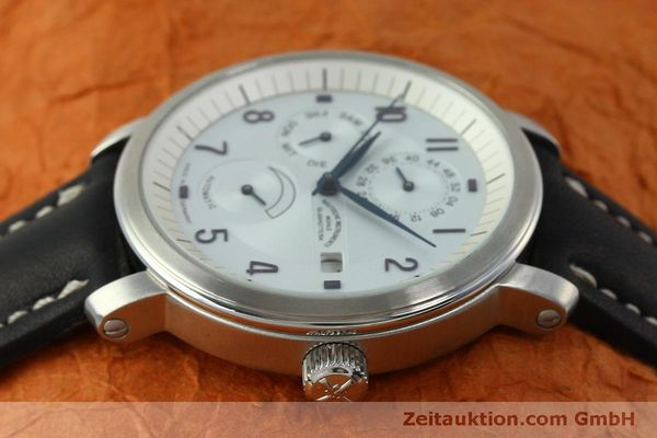 Used luxury watch Mühle Business Timer steel automatic Kal. ETA 2892A2 Ref. M13065  | 150629 05