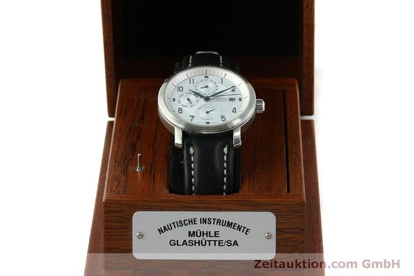 Used luxury watch Mühle Business Timer steel automatic Kal. ETA 2892A2 Ref. M13065  | 150629 07