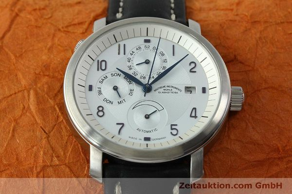 Used luxury watch Mühle Business Timer steel automatic Kal. ETA 2892A2 Ref. M13065  | 150629 15