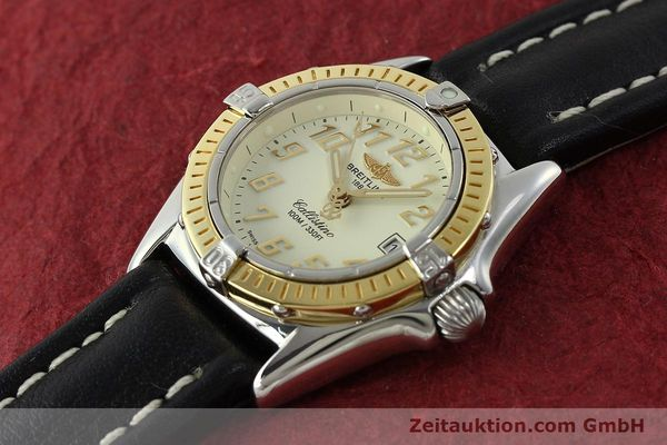 Used luxury watch Breitling Callistino steel / gold quartz Kal. B52 Ref. D52345  | 150630 01