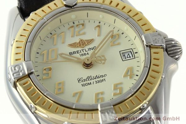 Used luxury watch Breitling Callistino steel / gold quartz Kal. B52 Ref. D52345  | 150630 02
