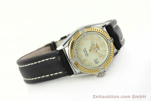 Used luxury watch Breitling Callistino steel / gold quartz Kal. B52 Ref. D52345  | 150630 03