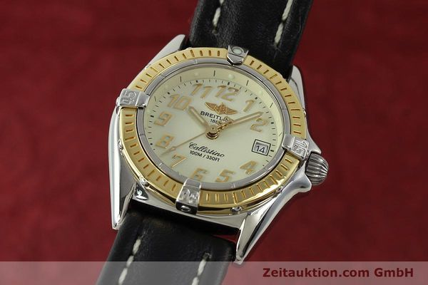 Used luxury watch Breitling Callistino steel / gold quartz Kal. B52 Ref. D52345  | 150630 04