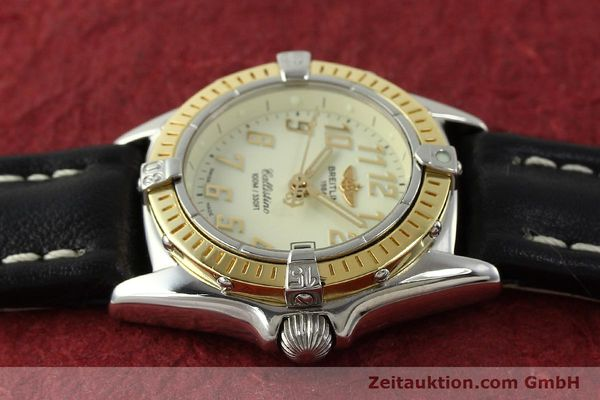 Used luxury watch Breitling Callistino steel / gold quartz Kal. B52 Ref. D52345  | 150630 05