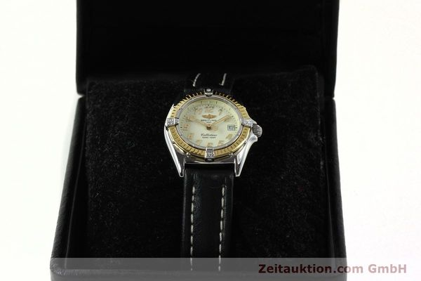 Used luxury watch Breitling Callistino steel / gold quartz Kal. B52 Ref. D52345  | 150630 07