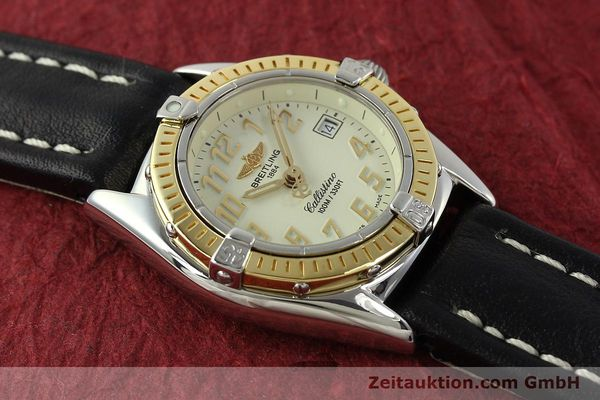 Used luxury watch Breitling Callistino steel / gold quartz Kal. B52 Ref. D52345  | 150630 12