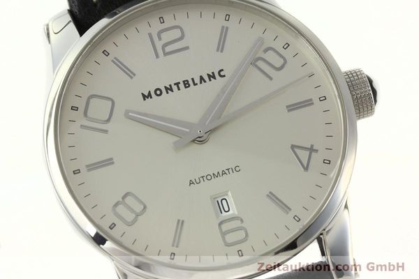 Used luxury watch Montblanc Timewalker steel automatic Kal. 4810401 ETA 2892A2 Ref. 7070  | 150633 02