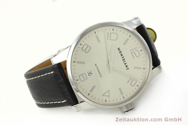 Used luxury watch Montblanc Timewalker steel automatic Kal. 4810401 ETA 2892A2 Ref. 7070  | 150633 03