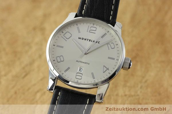 Used luxury watch Montblanc Timewalker steel automatic Kal. 4810401 ETA 2892A2 Ref. 7070  | 150633 04