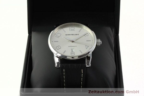 Used luxury watch Montblanc Timewalker steel automatic Kal. 4810401 ETA 2892A2 Ref. 7070  | 150633 07