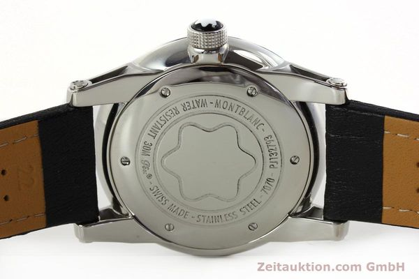 Used luxury watch Montblanc Timewalker steel automatic Kal. 4810401 ETA 2892A2 Ref. 7070  | 150633 09