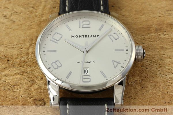 Used luxury watch Montblanc Timewalker steel automatic Kal. 4810401 ETA 2892A2 Ref. 7070  | 150633 15