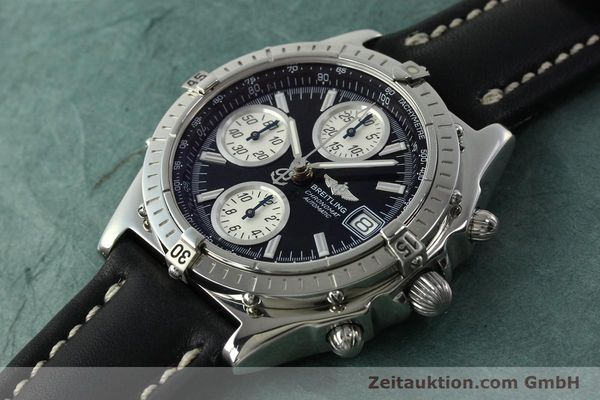 Used luxury watch Breitling Chronomat chronograph steel automatic Kal. B13 ETA 7750 Ref. A13050.1  | 150638 01