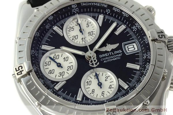 Used luxury watch Breitling Chronomat chronograph steel automatic Kal. B13 ETA 7750 Ref. A13050.1  | 150638 02