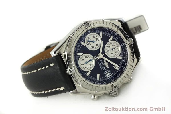 Used luxury watch Breitling Chronomat chronograph steel automatic Kal. B13 ETA 7750 Ref. A13050.1  | 150638 03