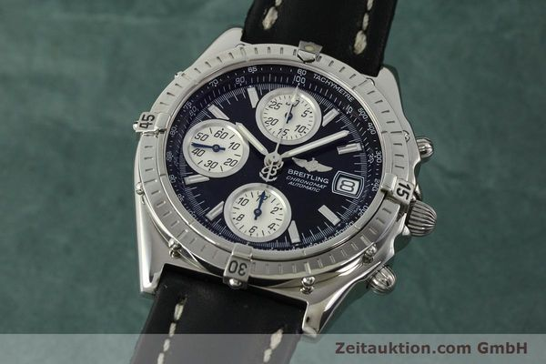 Used luxury watch Breitling Chronomat chronograph steel automatic Kal. B13 ETA 7750 Ref. A13050.1  | 150638 04