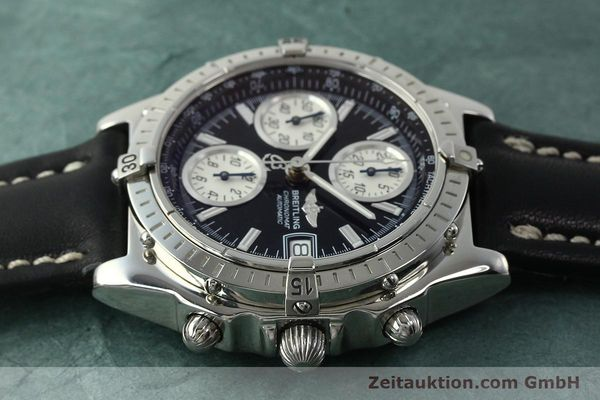 Used luxury watch Breitling Chronomat chronograph steel automatic Kal. B13 ETA 7750 Ref. A13050.1  | 150638 05