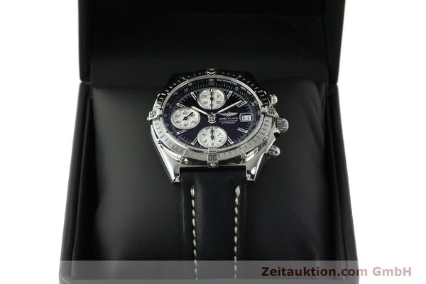 Used luxury watch Breitling Chronomat chronograph steel automatic Kal. B13 ETA 7750 Ref. A13050.1  | 150638 07