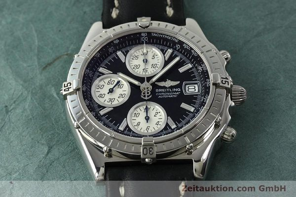 Used luxury watch Breitling Chronomat chronograph steel automatic Kal. B13 ETA 7750 Ref. A13050.1  | 150638 15