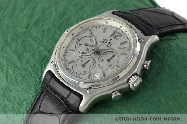 Used luxury watch Ebel 1911 chronograph steel automatic Kal. 137 Ref. 9137240  | 150639 01