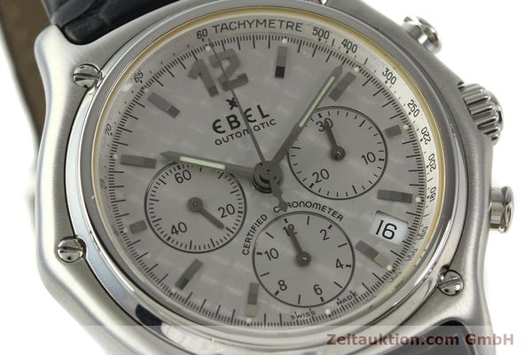 Used luxury watch Ebel 1911 chronograph steel automatic Kal. 137 Ref. 9137240  | 150639 02