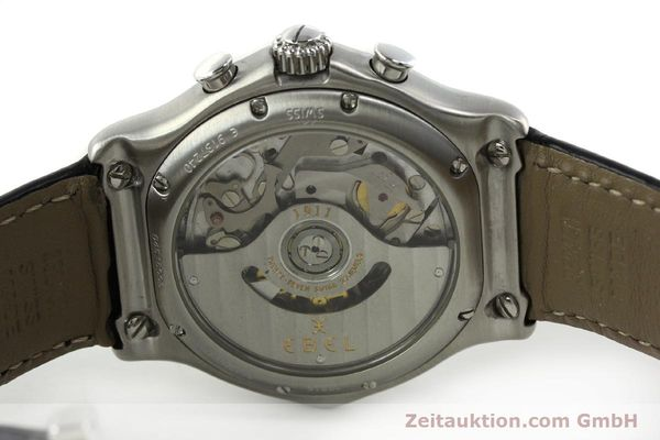 Used luxury watch Ebel 1911 chronograph steel automatic Kal. 137 Ref. 9137240  | 150639 09