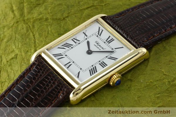 Used luxury watch Chopard * 18 ct gold manual winding Kal. ETA 2512  | 150645 01