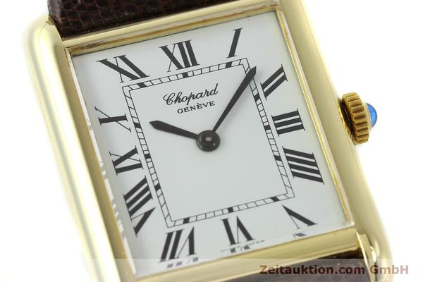 Used luxury watch Chopard * 18 ct gold manual winding Kal. ETA 2512  | 150645 02
