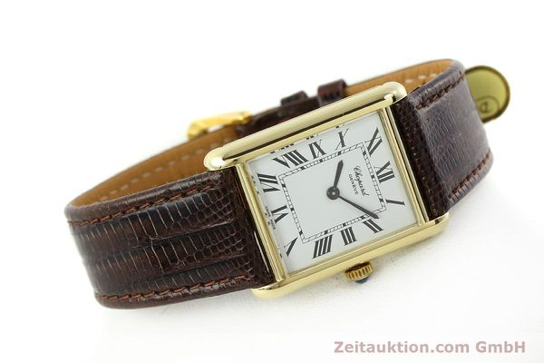 Used luxury watch Chopard * 18 ct gold manual winding Kal. ETA 2512  | 150645 03