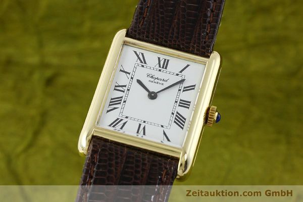 Used luxury watch Chopard * 18 ct gold manual winding Kal. ETA 2512  | 150645 04