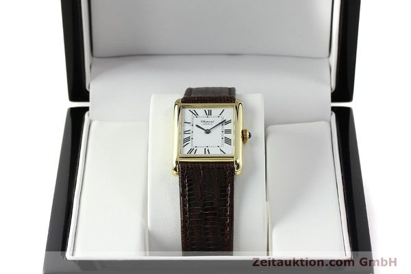 Used luxury watch Chopard * 18 ct gold manual winding Kal. ETA 2512  | 150645 07