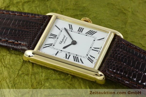 Used luxury watch Chopard * 18 ct gold manual winding Kal. ETA 2512  | 150645 13