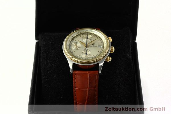 Used luxury watch Chronoswiss Pacific chronograph steel / gold automatic Kal. 7414 VAL 7750  | 150647 07