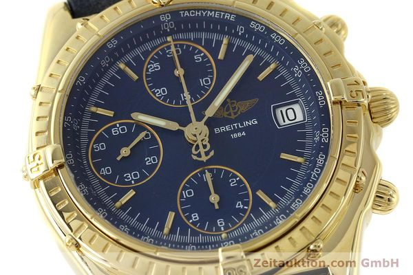 Used luxury watch Breitling Chronomat chronograph 18 ct gold automatic Kal. B13 C.1 ETA 7750 Ref. K13050.1  | 150648 02