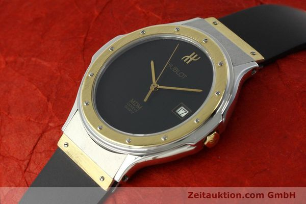 Used luxury watch Hublot MDM steel / gold quartz Kal. ETA 955411 Ref. S152102  | 150650 01