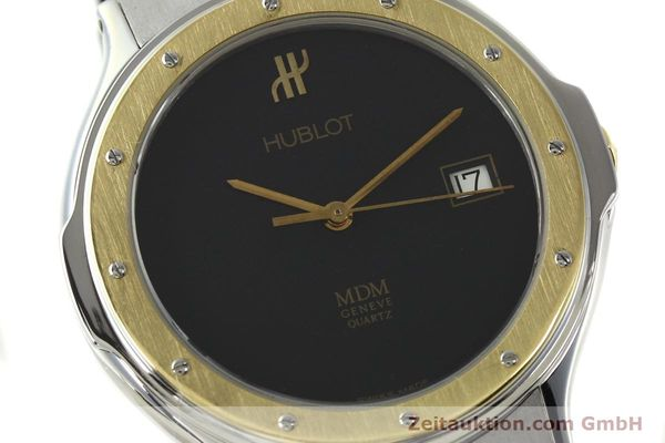 Used luxury watch Hublot MDM steel / gold quartz Kal. ETA 955411 Ref. S152102  | 150650 02