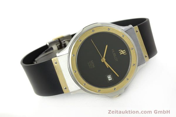 Used luxury watch Hublot MDM steel / gold quartz Kal. ETA 955411 Ref. S152102  | 150650 03