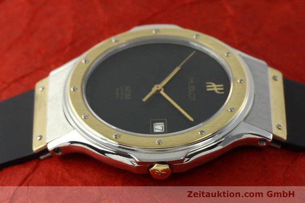 Used luxury watch Hublot MDM steel / gold quartz Kal. ETA 955411 Ref. S152102  | 150650 05