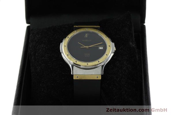 Used luxury watch Hublot MDM steel / gold quartz Kal. ETA 955411 Ref. S152102  | 150650 07