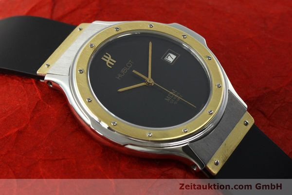 Used luxury watch Hublot MDM steel / gold quartz Kal. ETA 955411 Ref. S152102  | 150650 12