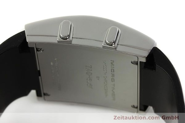 Used luxury watch Tag Heuer Micro Timer chronograph steel quartz Ref. CS1110-1  | 150652 10