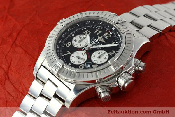 gebrauchte Luxusuhr Breitling Avenger Chronograph Stahl Quarz Kal. B69 Ref. A69360 LIMITED EDITION | 150658 01