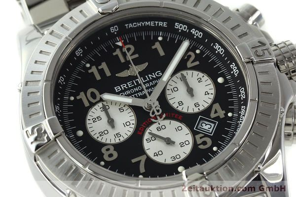 gebrauchte Luxusuhr Breitling Avenger Chronograph Stahl Quarz Kal. B69 Ref. A69360 LIMITED EDITION | 150658 02