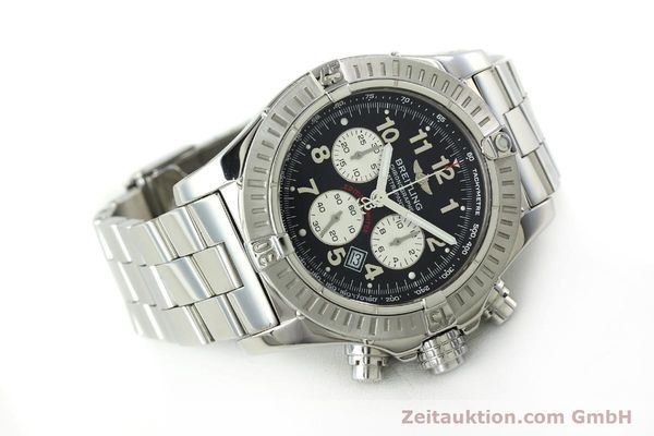 gebrauchte Luxusuhr Breitling Avenger Chronograph Stahl Quarz Kal. B69 Ref. A69360 LIMITED EDITION | 150658 03