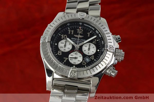 gebrauchte Luxusuhr Breitling Avenger Chronograph Stahl Quarz Kal. B69 Ref. A69360 LIMITED EDITION | 150658 04