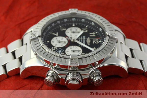 gebrauchte Luxusuhr Breitling Avenger Chronograph Stahl Quarz Kal. B69 Ref. A69360 LIMITED EDITION | 150658 05