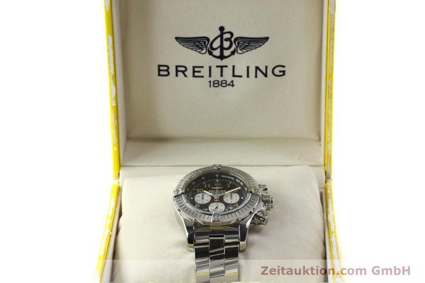 gebrauchte Luxusuhr Breitling Avenger Chronograph Stahl Quarz Kal. B69 Ref. A69360 LIMITED EDITION | 150658 06
